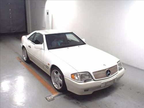 1996 MERCEDES SL600 V12 CONVERTIBLE * LEFT HAND DRIVE * LOW MILES For Sale (picture 1 of 6)