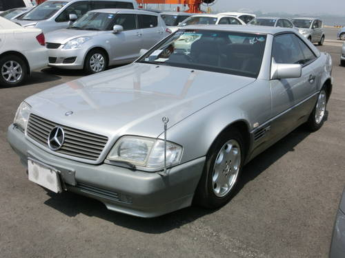 1990 MERCEDES-BENZ SL SL500 AUTOMATIC CONVERTIBLE ONLY 42000 MILE For Sale (picture 1 of 6)