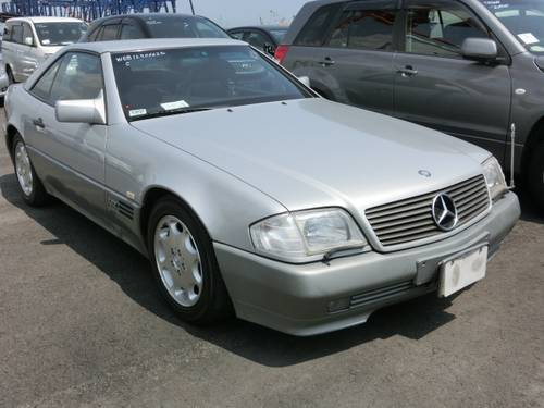 1990 MERCEDES-BENZ SL SL500 AUTOMATIC CONVERTIBLE ONLY 42000 MILE For Sale (picture 3 of 6)