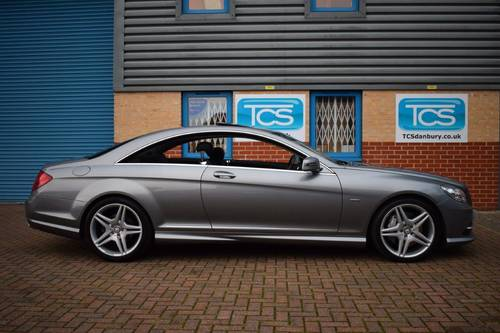 2010 Mercedes CL500 Coupe AMG Sport 7G Automatic SOLD (picture 3 of 6)