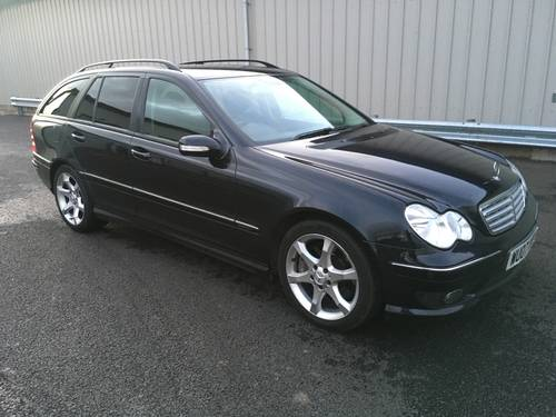 2007 MERCEDES-BENZ C CLASS 1.8 C200 KOMPRESSOR SPORT EDITION AUTO SOLD (picture 1 of 6)