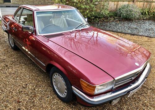 Wanted: Mercedes SL 107 300SL 420SL 500SL R107 SL & SLC  Wanted (picture 1 of 2)