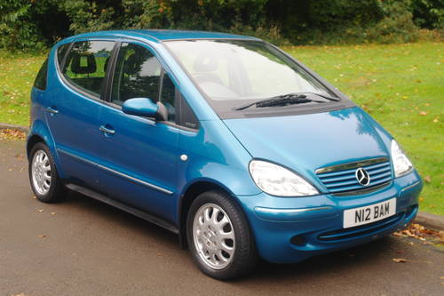 MERCEDES A140 ELEGANCE.. ONLY 26,000 MILES.. 1 OWNER.. FSH. SOLD (picture 2 of 6)