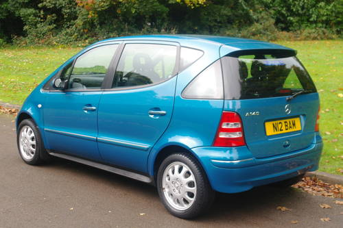 MERCEDES A140 ELEGANCE.. ONLY 26,000 MILES.. 1 OWNER.. FSH. SOLD (picture 5 of 6)