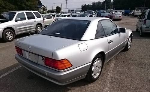 1994 MERCEDES BENZ SL500 AUTOMATIC CONVERTIBLE For Sale (picture 6 of 6)
