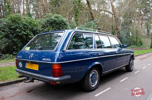 1983 Mercedes W123 Estate - 1 Owner from new - Diesel SOLD | Car And