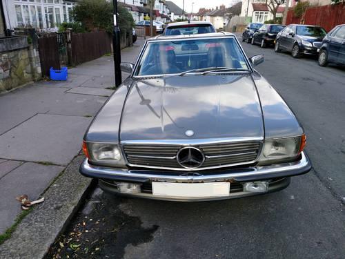 Mercedes Benz 500sl 1983 Original Unrestored  For Sale (picture 1 of 6)