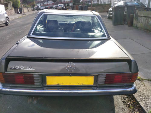 Mercedes Benz 500sl 1983 Original Unrestored  For Sale (picture 4 of 6)