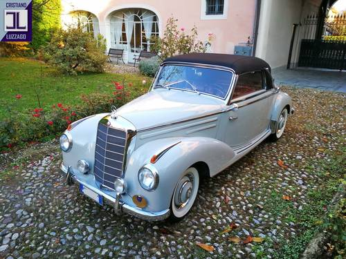 RARE 1955 MERCEDES BENZ 220 A CABRIOLET (W187) SOLD (picture 2 of 6)