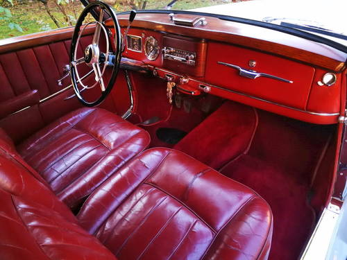 RARE 1955 MERCEDES BENZ 220 A CABRIOLET (W187) SOLD (picture 4 of 6)