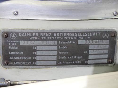 1952 Die Bilderbuchgeschichte eines edlen Automobils For Sale (picture 6 of 6)