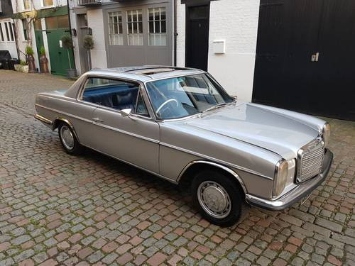 1973 w114 mercedes 280ce 2dr automatic coupe sold car. Black Bedroom Furniture Sets. Home Design Ideas