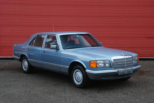 1985 mercedes benz 280 se w126 rhd automatic miles for sale car and classic. Black Bedroom Furniture Sets. Home Design Ideas