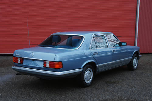 1985 Mercedes-Benz 280 SE W126 RHD Automatic, 81.000 miles For Sale (picture 2 of 6)