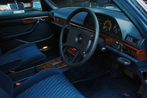 1985 Mercedes-Benz 280 SE W126 RHD Automatic, 81.000 miles For Sale (picture 3 of 6)