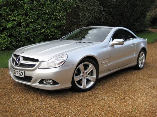 2008 Mercedes Benz SL500 With 1 Owner From New + Just Serviced For Sale (picture 1 of 6)
