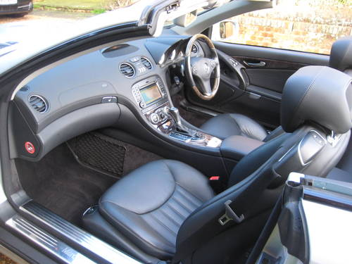 2008 Mercedes Benz SL500 With 1 Owner From New + Just Serviced For Sale (picture 3 of 6)