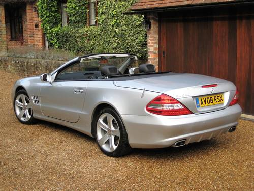2008 Mercedes Benz SL500 With 1 Owner From New + Just Serviced For Sale (picture 5 of 6)