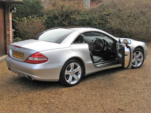 2008 Mercedes Benz SL500 With 1 Owner From New + Just Serviced For Sale (picture 6 of 6)