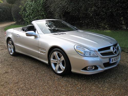 2008 Mercedes Benz SL500 With 1 Owner From New + Just Serviced For Sale (picture 2 of 6)