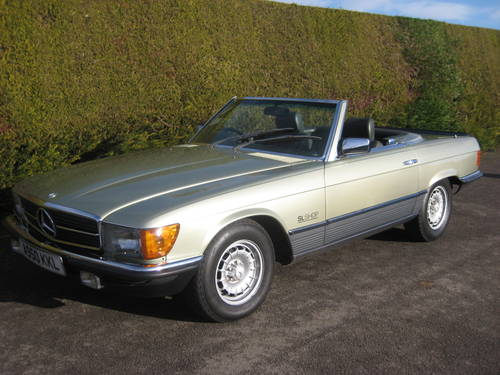 1983 Mercedes 500SL W107 Convertible 58,000miles For Sale (picture 2 of 6)