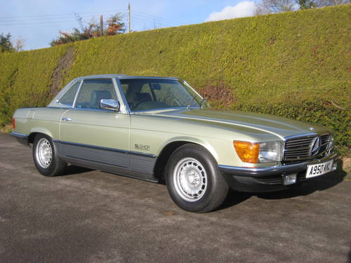 1983 Mercedes 500SL W107 Convertible 58,000miles For Sale (picture 3 of 6)