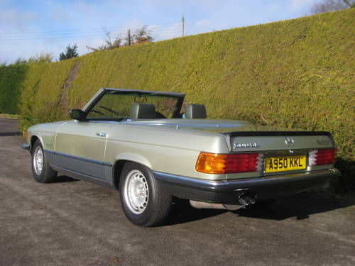 1983 Mercedes 500SL W107 Convertible 58,000miles For Sale (picture 4 of 6)