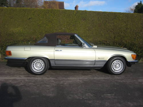 1983 Mercedes 500SL W107 Convertible 58,000miles For Sale (picture 6 of 6)