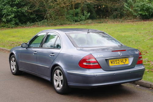 Mercedes E270 CDi Avantgarde.. Tip Auto.. Diesel.. BARGAIN.. SOLD (picture 6 of 6)