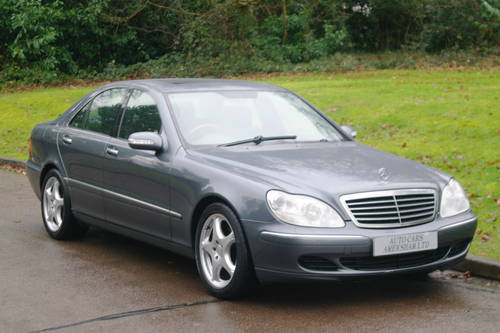 2006 Mercedes S320 CDi. Diesel. Auto. Fully Loaded. BARGAIN. SOLD (picture 1 of 6)