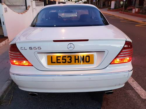 2003 CL600 Biturbo W215   515HP For Sale (picture 1 of 6)