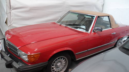 1984 Mercedes 380 sl For Sale (picture 1 of 6)