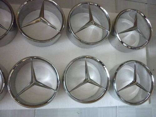 1955 Mercedes Benz 190SL Stainless Steel Star for sale For Sale (picture 1 of 4)