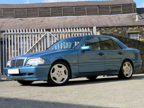 1998 Mercedes W202 C280 V6 Sport - AMG Options - Low Miles - FSH SOLD (picture 1 of 6)