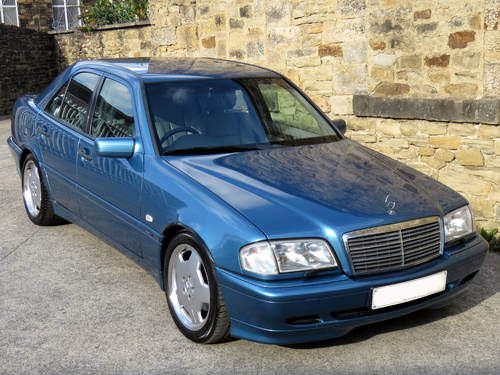 1998 Mercedes W202 C280 V6 Sport - AMG Options - Low Miles - FSH SOLD (picture 3 of 6)
