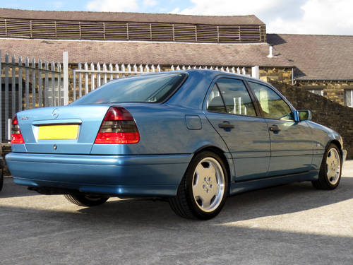 1998 Mercedes W202 C280 V6 Sport - AMG Options - Low Miles - FSH SOLD (picture 4 of 6)