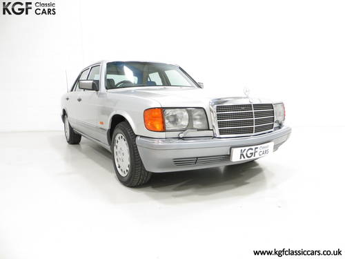 1991 An Opulent Mercedes-Benz W126 300SE with Just 64,801 Miles SOLD (picture 1 of 6)