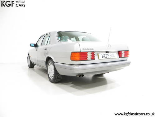 1991 An Opulent Mercedes-Benz W126 300SE with Just 64,801 Miles SOLD (picture 4 of 6)