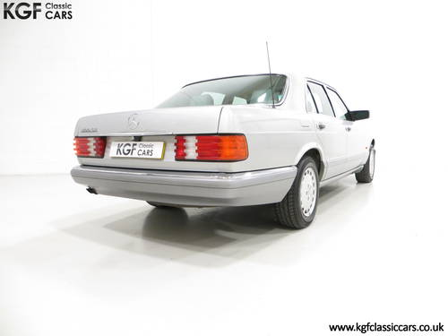 1991 An Opulent Mercedes-Benz W126 300SE with Just 64,801 Miles SOLD (picture 5 of 6)