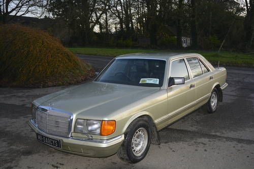 1983 Mercedes 500SE for sale SOLD (picture 3 of 6)