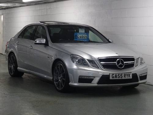 2012 Mercedes-Benz E Class 5.5 E63 BlueEFFICIENCY AMG MCT 7S 4dr  For Sale (picture 1 of 6)