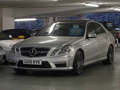 2012 Mercedes-Benz E Class 5.5 E63 BlueEFFICIENCY AMG MCT 7S 4dr  For Sale (picture 2 of 6)