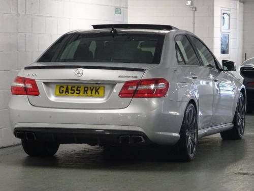 2012 Mercedes-Benz E Class 5.5 E63 BlueEFFICIENCY AMG MCT 7S 4dr  For Sale (picture 4 of 6)