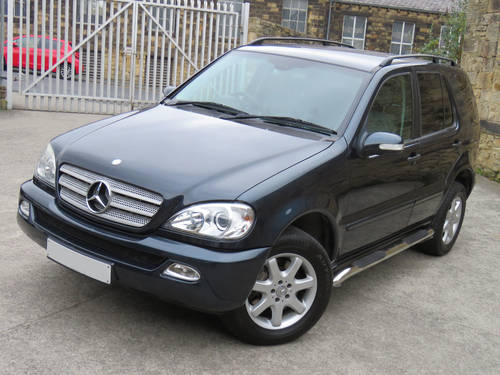 2002 Mercedes W163 ML270 CDI Auto - 68K - FSH - Superb Example SOLD (picture 1 of 6)