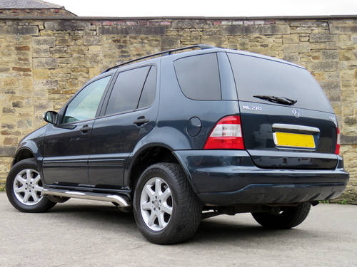 2002 Mercedes W163 ML270 CDI Auto - 68K - FSH - Superb Example SOLD (picture 2 of 6)