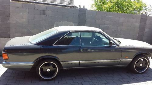 1990 Mercedes 126 SEC 500 coupe For Sale (picture 2 of 6)