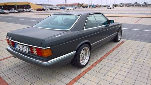 1990 Mercedes 126 SEC 500 coupe For Sale (picture 4 of 6)