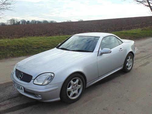 2001 Mercedes 230SLK Kompressor SOLD (picture 1 of 6)