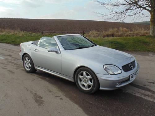 2001 Mercedes 230SLK Kompressor SOLD (picture 2 of 6)