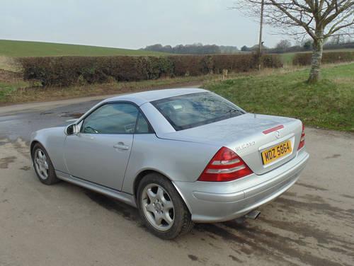 2001 Mercedes 230SLK Kompressor SOLD (picture 3 of 6)